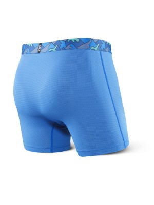 Bokserki Męskie SAXX Quest Boxer Brief Fly PR Pure Blue