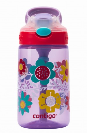Butelka na napoje Contigo Kids Gizmo Flip 420ml Wisteria Flowers On The Vine
