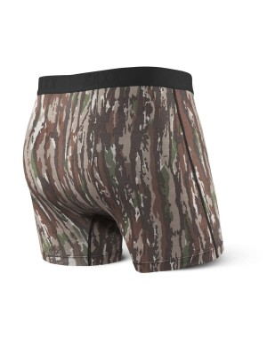 Bokserki Męskie SAXX Ultra Boxer Brief Fly Real Tree Original