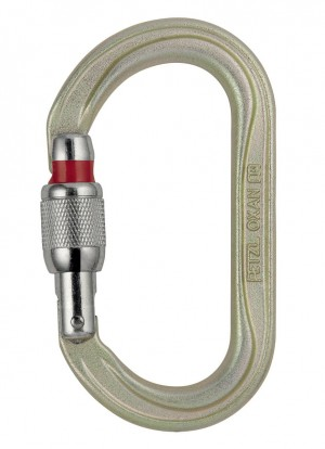 Karabinek PETZL Oxan Screw-Lock M72A SL