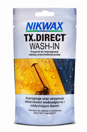 Impregnat do odzieży Nikwax TX.Direct Wash-In 100 ml