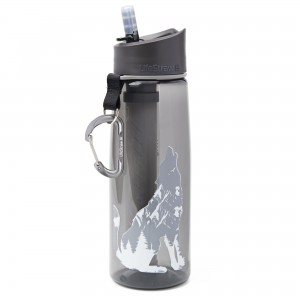 Butelka z filtrem do wody LifeStraw Go 650ml grafitowy Wolf