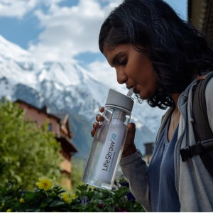 Butelka z filtrem do wody LifeStraw Go 650ml grafitowy Mountain