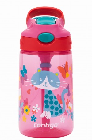Butelka na napoje Contigo Kids Gizmo Flip 420ml cherry cat