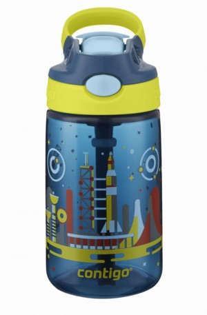 Butelka na napoje Contigo Kids Gizmo Flip 420ml Nautical Space